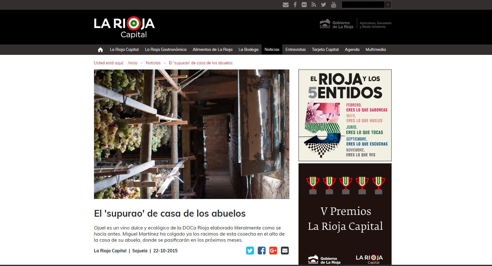 El 'supurao' de casa de los abuelos. La Rioja Capital