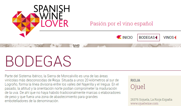 Ojuel por Spanish Wine Lovers