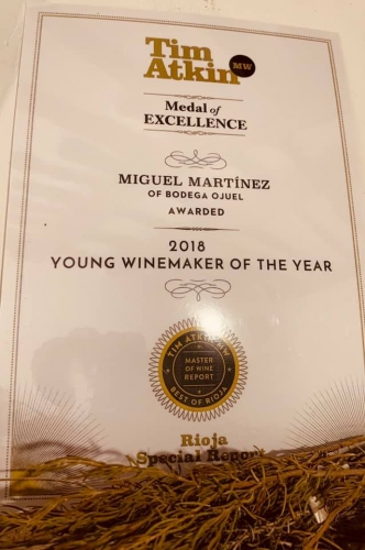 Miguel Winemaker of the Year