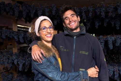 Miguel e Irantzu colgaderas Supurao